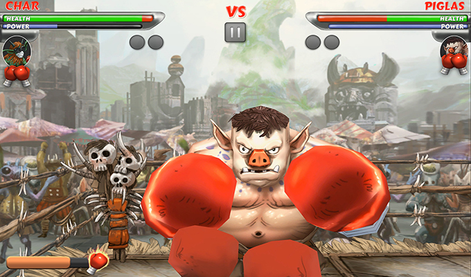 Beast Boxing Turbo Ouya
