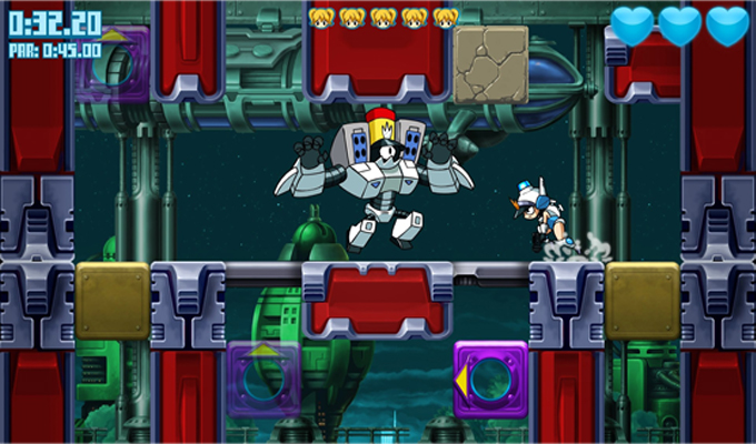 Mighty Switch Force! Hyper Drive Edition Wii U-image