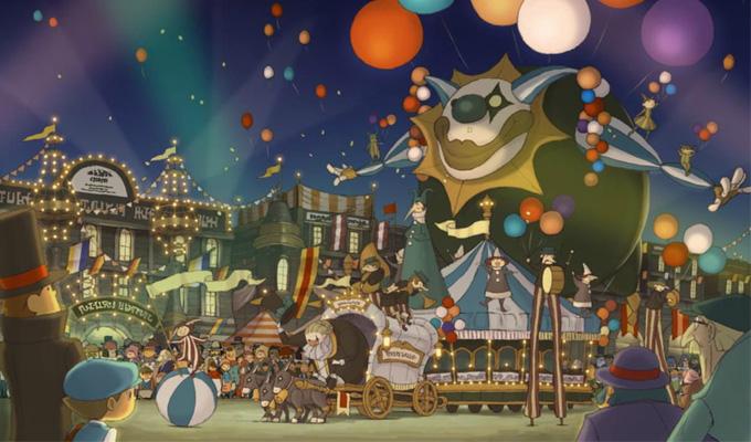 Professeur Layton et le Masque des miracles 3DS-image