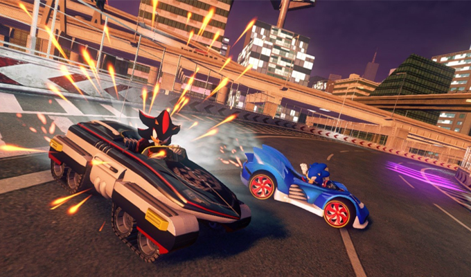 Sonic & All-Stars Racing Transformed PS3-image