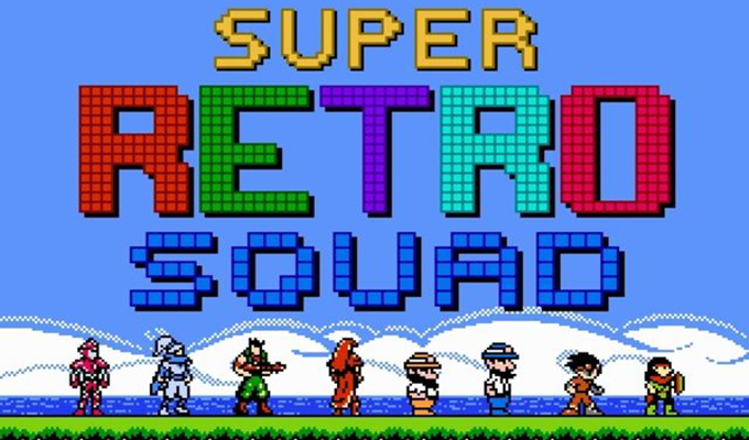 Super Retro Squad Ouya