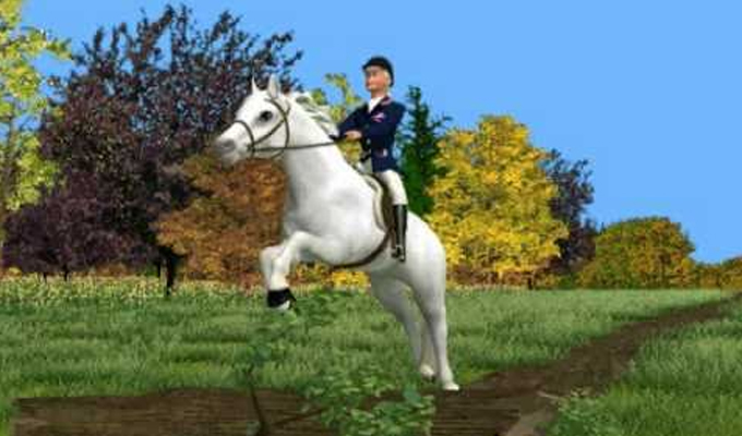 Barbie aventures equestres pc - Chevaux barbie ...
