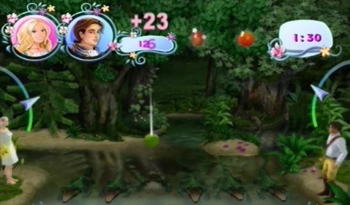 Barbie Princesse de l'Ile Merveilleuse Wii-image