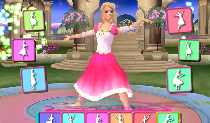 Barbie au bal des 12 princesses pc - Jeux info barbie ...