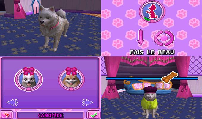 Barbie et le Salon de Beauté des Chiens DS-image