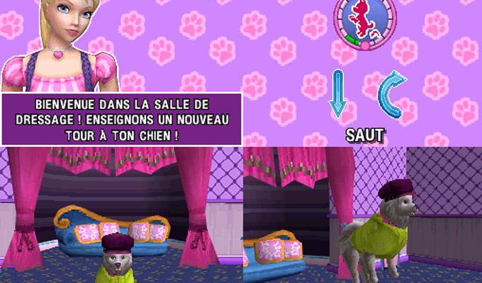Barbie et le Salon de Beauté des Chiens DS-image2