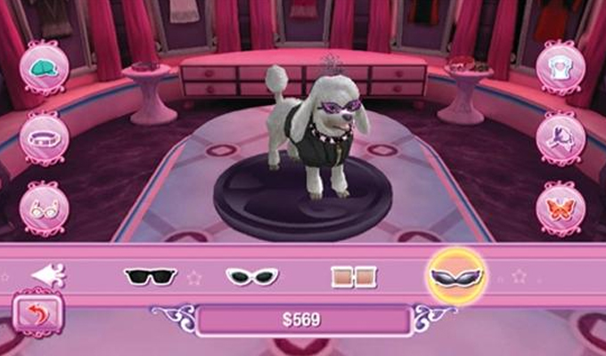 Barbie et le Salon de Beauté des Chiens Wii-image