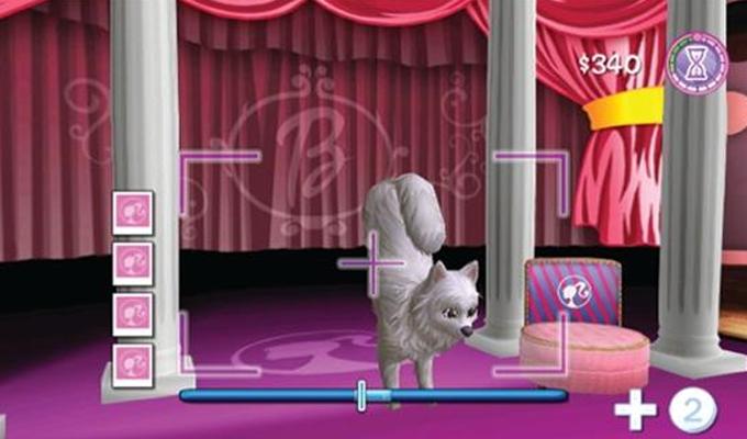 Barbie et le Salon de Beauté des Chiens Wii-image2