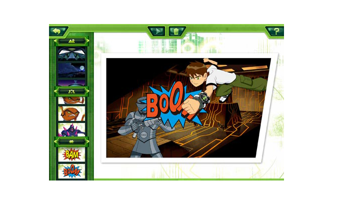 Ben 10 Comic Creator iPad (2)