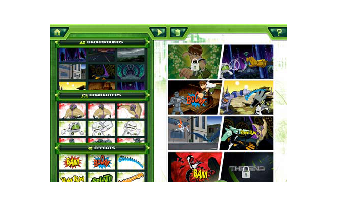 Ben 10 Comic Creator iPad (3)