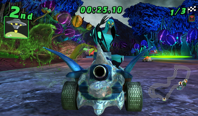 Ben 10 Galactic Racing PS Vita (2)