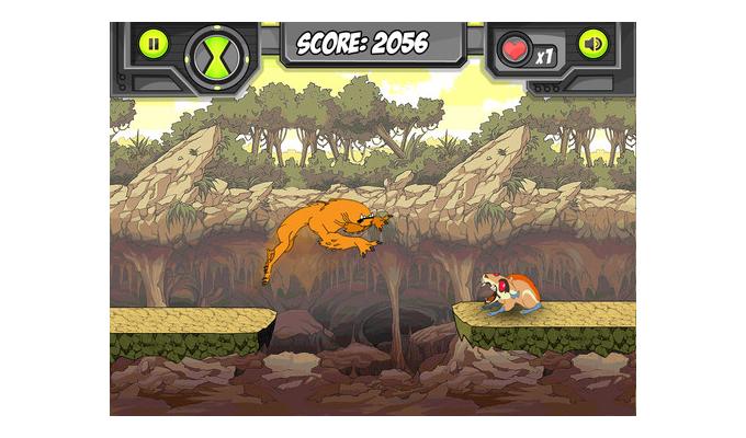 Ben 10 OmniGames iPad (2)