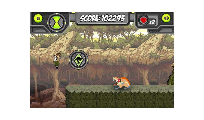 Ben 10 OmniGames iPhone (2)