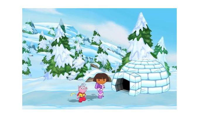 Dora Sauve la Princesse des Neiges DS (3)