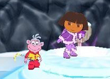 Dora Sauve la Princesse des Neiges Wii (1)