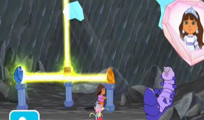 Dora Sauve le Royaume de Crystal Wii (2)