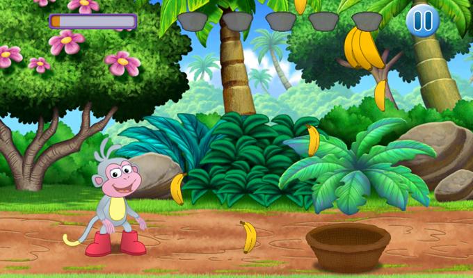 Dora l'Exploratrice Où est Babouche iPhone 2