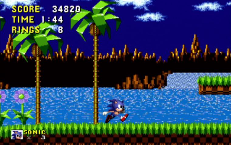 Jeux de Sonic-1