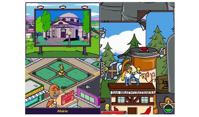 Les Simpson  Le Jeu DS (2)