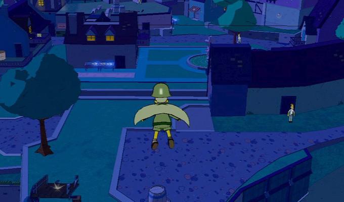 Les Simpson Le Jeu PS3 (2)