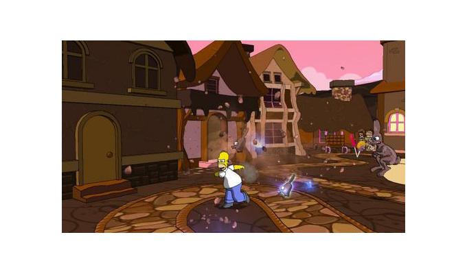 Les Simpson  Le Jeu PSP (2)