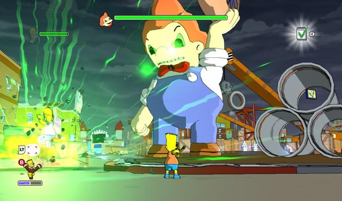 Les Simpson  Le Jeu Wii (2)