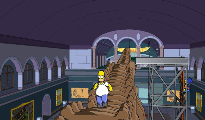 Les Simpson  Le Jeu Xbox 360 (2)
