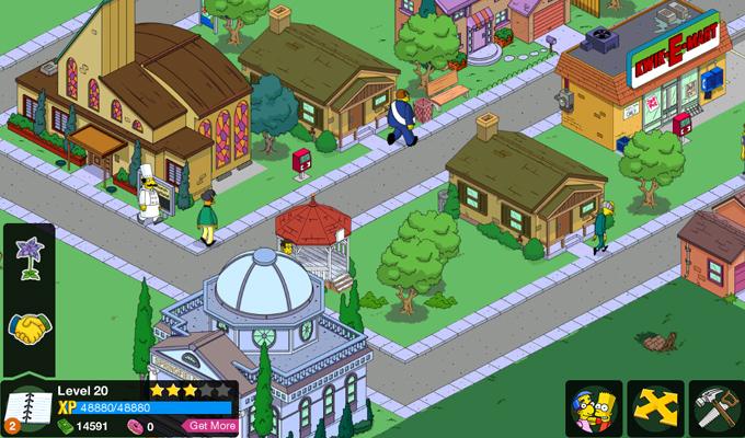 Les Simpson Springfield iPad (2)