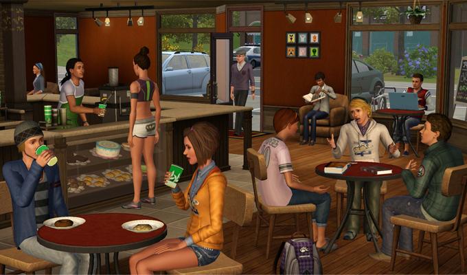 Les Sims 3 University-2