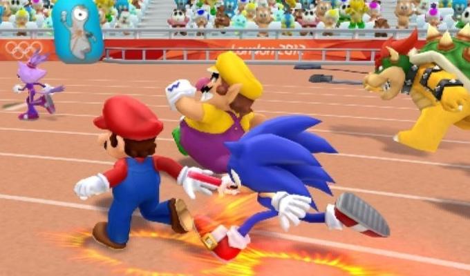 Mario et Sonic aux Jeux olympiques de Londres 2012 Wii-image