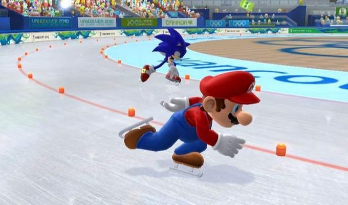 Mario et Sonic aux Jeux olympiques d'hiver Wii-image