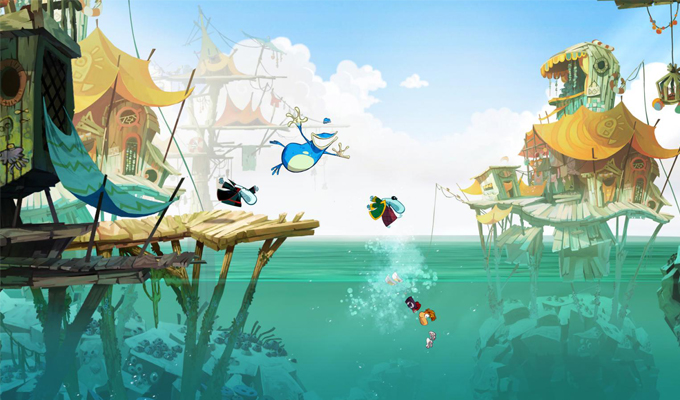 Rayman Legends Wii U-2