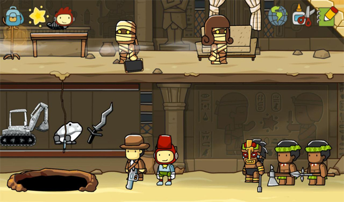 Scribblenauts Unlimited 3DS-2