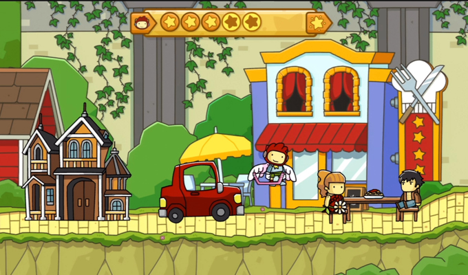Scribblenauts Unlimited Wii U-2