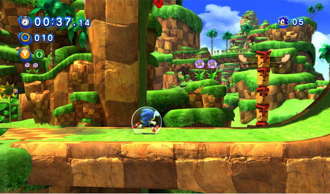 Sonic Generations Nintendo 3DS-image
