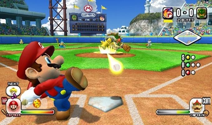 Super Mario Stadium Baseball Wii-image