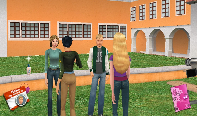 The Barbie Diaries High School Mystery PC-image