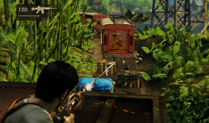 Photo du jeu Uncharted 2 Among Thieves sur PS3