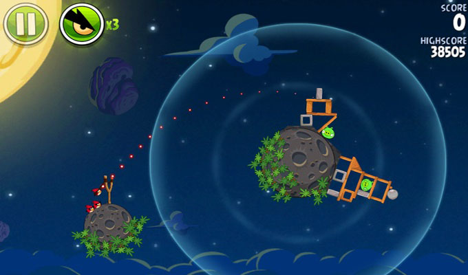 Angry Birds Space iPhone-2
