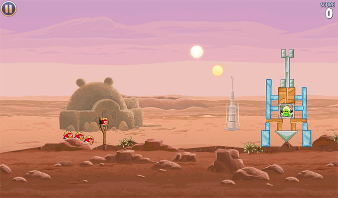 Photo du jeu Angry Birds Star Wars sur iPhone