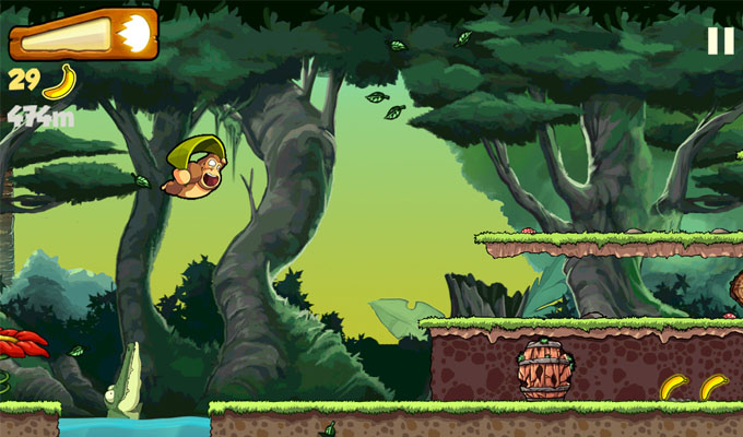 Photo du jeu Banana Kong sur iPhone