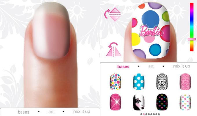Barbie Doll'd Up Nails iPhone-image