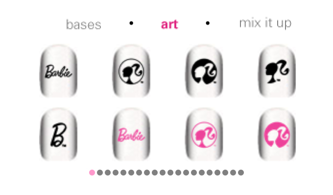 Barbie Doll'd Up Nails iPhone-image2