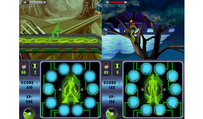 Ben 10 Alien Force Vilgax Attacks DS 2