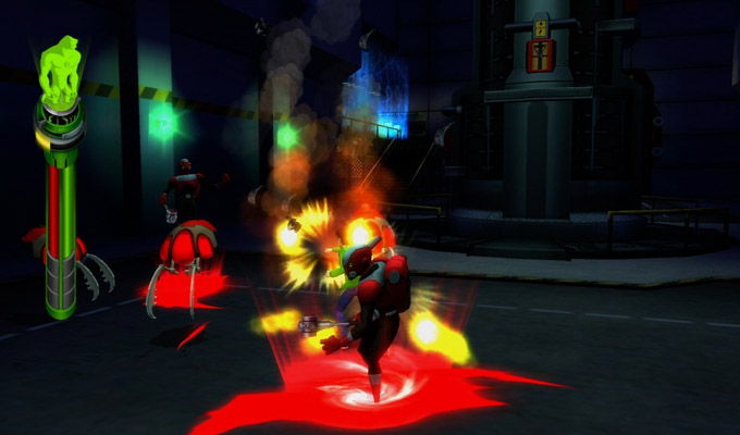 Ben 10 Alien Force Vilgax Attacks sur Xbox 360