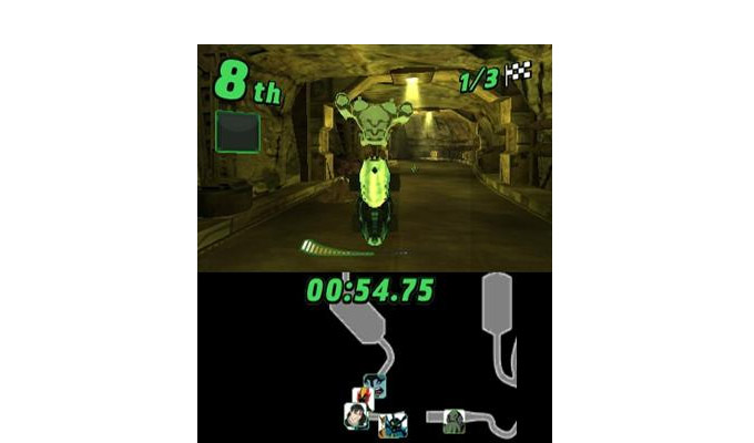 Ben 10 Galactic Racing DS 2