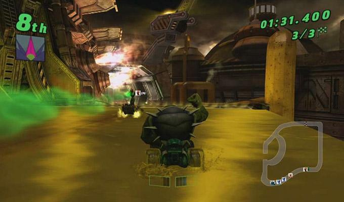Ben 10 Galactic Racing Wii 2