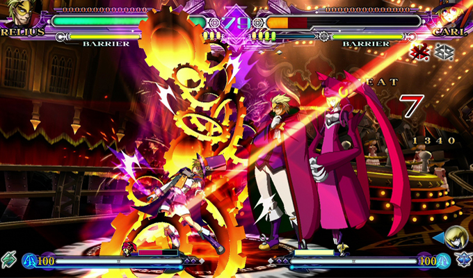 BlazBlue Continuum Shift Extend PS Vita-2