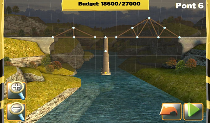 Photo du jeu Bridge Constructor sur iPhone