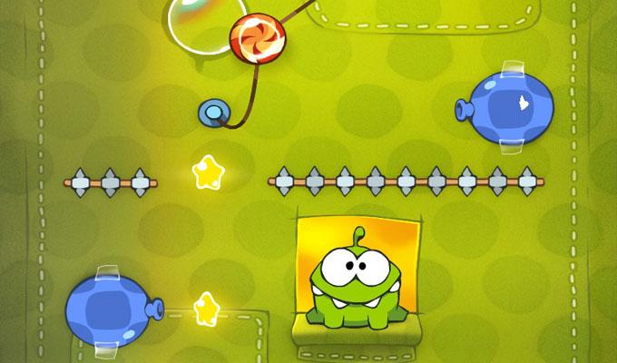 Photo du jeu Cut the Rope sur iPhone
